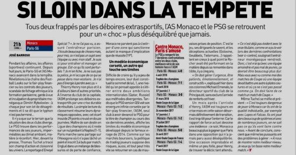 2018 Ligue 1 J13 MONACO PSG 0-4, le 11/11/2018