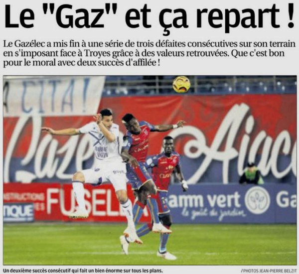 2018 Ligue 2 J14 GAZELEC TROYES 2-1, le 09/11/2018