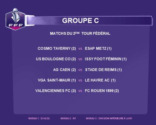 2018 Féminines CDF T2 Fédéral Direction CAEN , le 27/11/2018