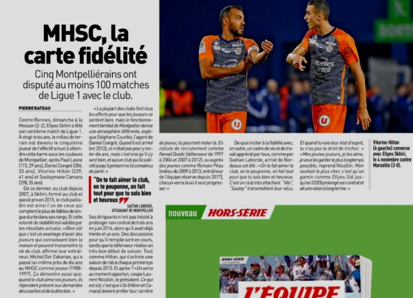 2018 Ligue 1 MONACO MONPELLIER 1-2, le 01/12/2018