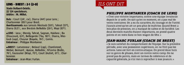2018 Ligue 2 J17 LENS BREST 2-1, le 04/12/2018