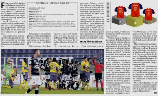 2018 Ligue 2 J17 SOCHAUX GAZELEC 2-0, le 04/12/2018