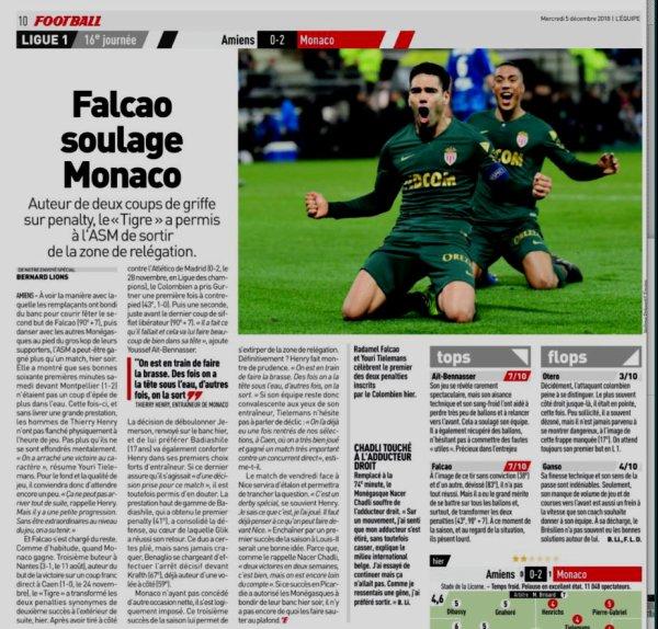 2018 Ligue 1 J16 AMIENS MONACO 0-2, le 04/12/2018