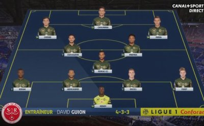 2018 Ligue 1 J20 LYON REIMS 1-1, le live, le 11/01/2019