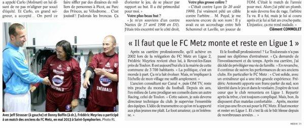 2018 Ligue 2 J20 ORLEANS METZ 0-1, le 11/01/2019