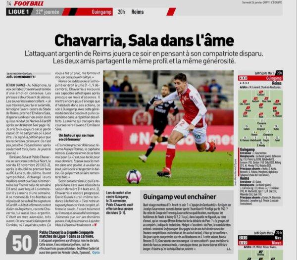 2018 Ligue 1 J22 GUINGAMP REIMS, l'avant match, le 26/01/2019