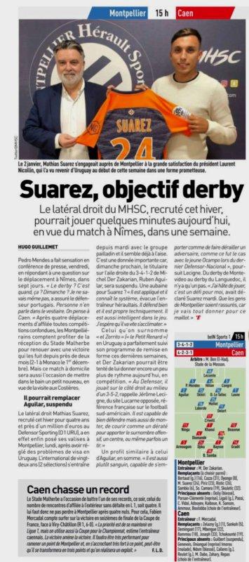 2018 Ligue 1 J22 MONTPELLIER CAEN 2-0, le 27/01/2019