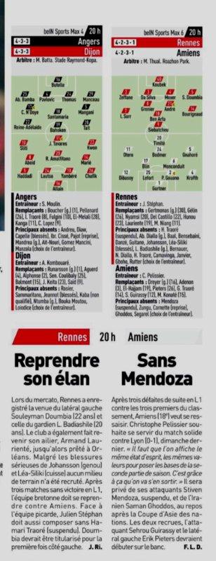 2018 Ligue 1 J23 RENNES AMIENS 1-0, le 02/02/2019