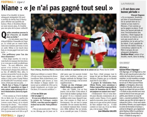 2018 Ligue 2 J23 METZ TROYES 1-1 , le 01/02/2019