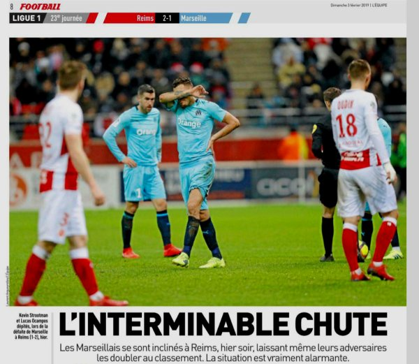 2018 Ligue 1 J23 REIMS MARSEILLE 2-1, le 02/02/2019