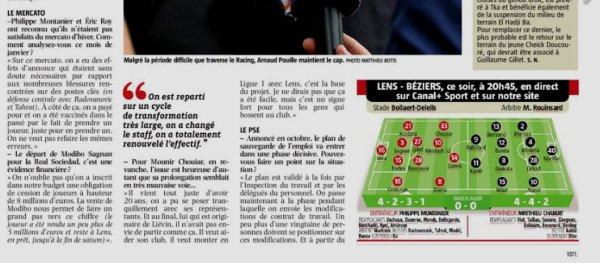 2018 Ligue 2 J23 LENS BEZIERS 3-0, le 04/02/2019