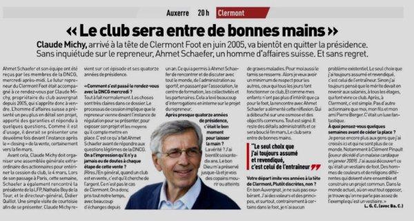 2018 Ligue 2 J25 AUXERRE CLERMONT 1-0, le 15/02/2019