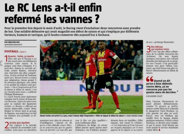 2018 Ligue 2 J25 SOCHAUX LENS 0-1, le 17/02/2019