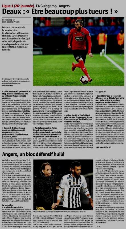 2018 Ligue 1 J26 GUINGAMP ANGERS 1-0, le 23/02/2019