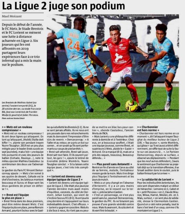 2018 Ligue 2 J27 CHÂTEAUROUX BREST 2-2, le 01/03/2019