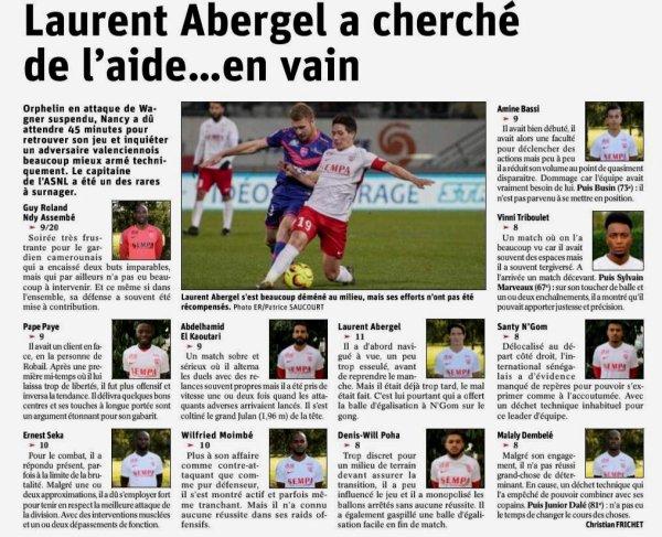 2018 Ligue 2 J30 NANCY VALENCIENNES 0-2, le 29/03/2019