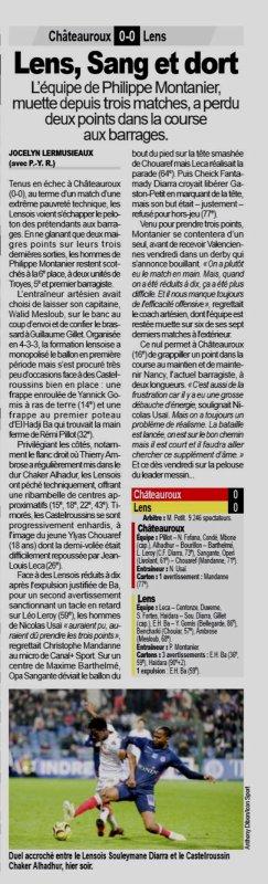2018 Ligue 2 J31 CHÂTEAUROUX LENS 0-0, le 08/04/209