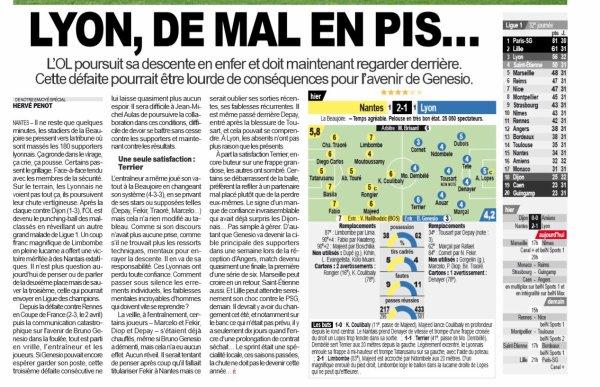 2018 Ligue 1 J32 NANTES LYON 2-1, le 13/04/2019