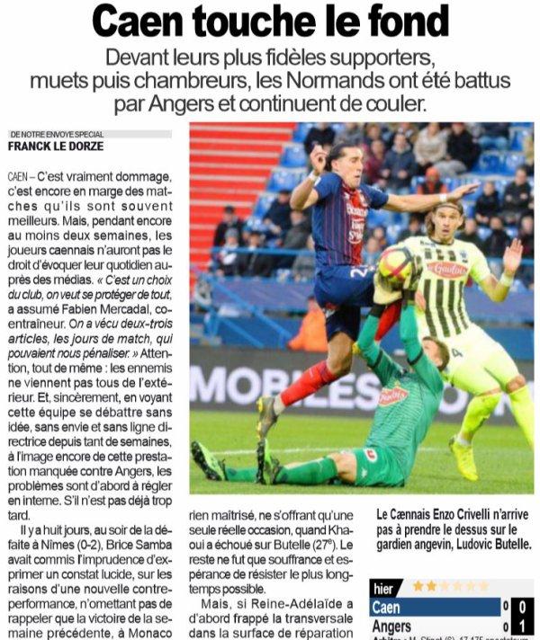 2018 Ligue 1 J32 CAEN ANGERS 0-1, le 13/04/2019