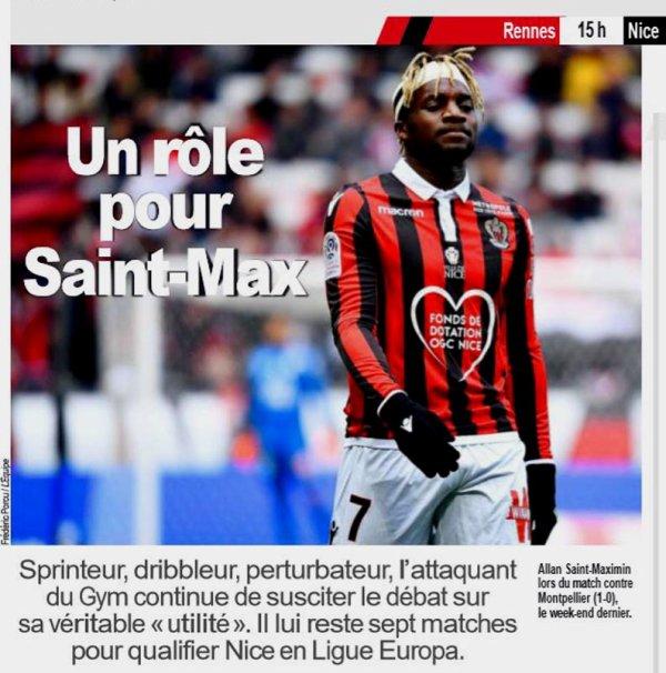 2018 Ligue 1 J32 RENNES NICE 0-0 , le 14/04/2019