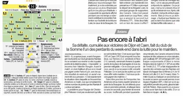 2018 Ligue 1 J33 NANTES AMIENS 3-2 , le 20/04/2019
