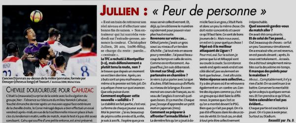 2018 Ligue 1 J33 TOULOUSE LILLE 0-0, le 21/04/2019