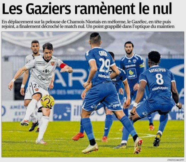 2018 Ligue 2 J34 NIORT GAZELEC 1-1, le 23/04/2019