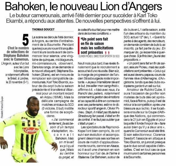 2018 Ligue 1 J34 ANGERS REIMS , l'avant match, le 28/04/2019