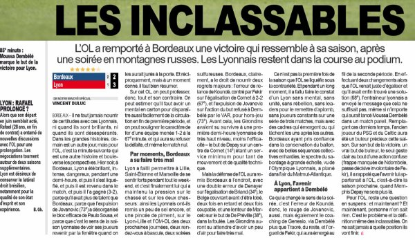 2018 Ligue 1 J34 BORDEAUX LYON 2-3, le 26/04/2019