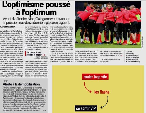 2018 Ligue 1 J34 NICE GUINGAMP 3-0, le 28/04/2019