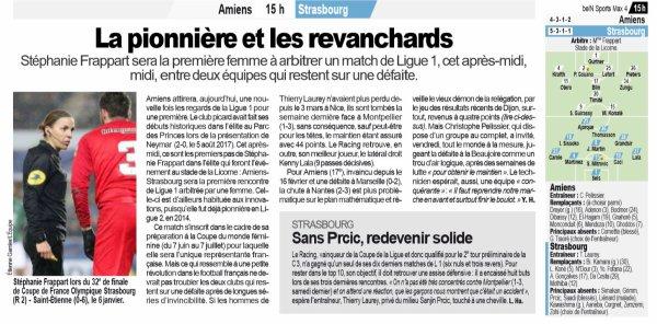 2018 Ligue 1 AMIENS STRASBOURG 1-1, le 28/04/2019