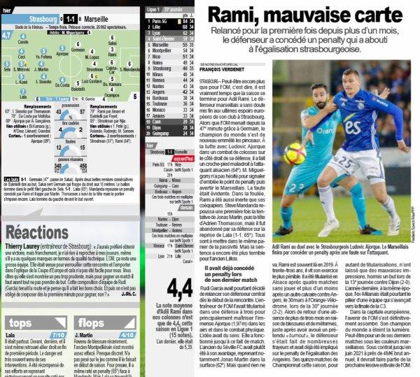 2018 Ligue 1 J35 STRASBOURG MARSEILLE 1-1, le 03/05/2019