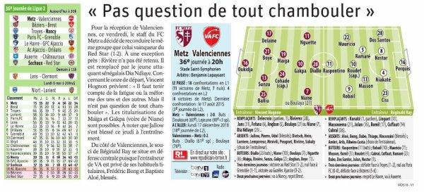 2018 Ligue 2 J36 METZ VALENCIENNES 3-0, le 03/05/2019