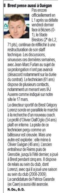 2018 Ligue 2 J36 BEZIERS BREST 1-0, le 03/05/2019
