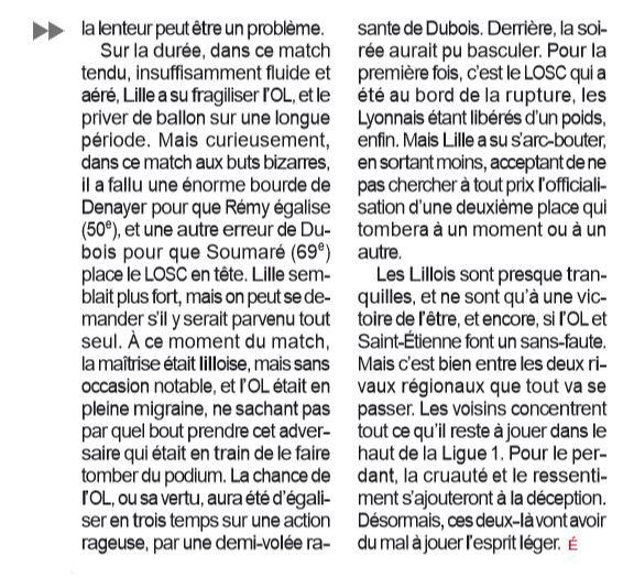 2018 Ligue 1 J35 LYON LILLE 2-2, le 05/05/2019