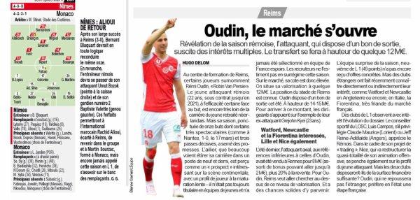 2018 Ligue 1 J36 CAEN REIMS, l'avant match, le 10/05/2019