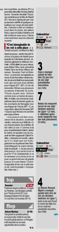 2018 Ligue 1 J36 NÎMES MONACO 1-0, le 11/05/2019