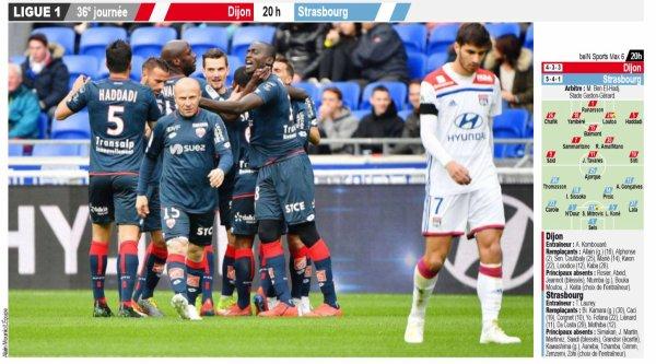 2018 Ligue 1 J36 DIJON STRASBOURG 2-1, le 11/05/2019