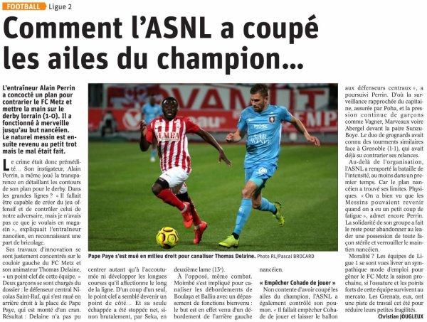 2018 Ligue 2 J37 NANCY METZ 1-0, le 10/05/2019