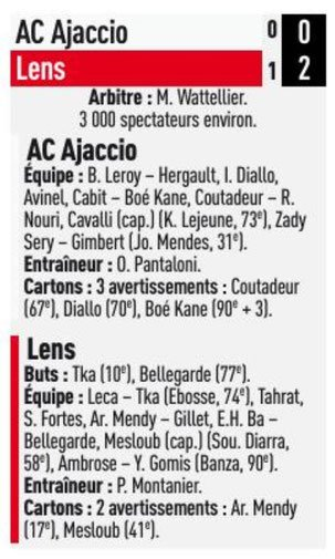 2018 Ligue 2 J37 AJACCIO LENS 0-2, le 10/05/2019