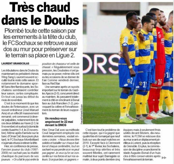 2018 Ligue 2 J37 LORIENT SOCHAUX 0-0, le 10/05/2019