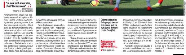 2018 Ligue 1 J36 RENNES GUINGAMP 1-1, le 12/05/2019