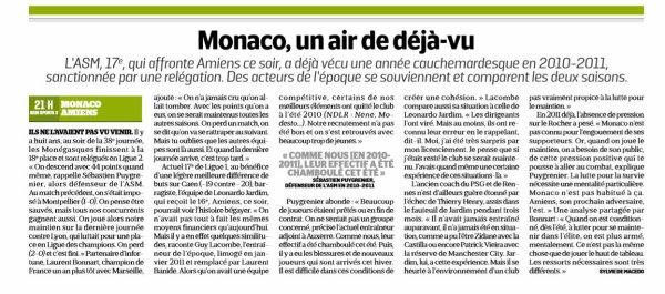 2018 Ligue 1 J37 MONACO AMIENS, le 18/05/2019