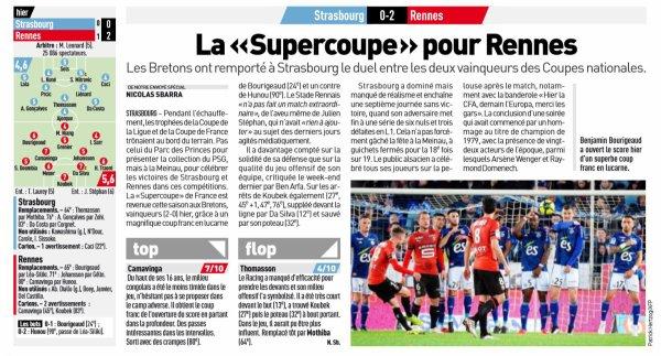 2018 Ligue 1 J37 STRASBOURG RENNES, le 18/05/2019