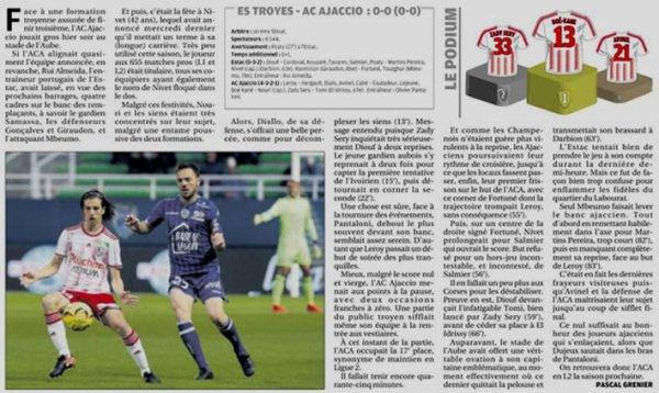 2018 Ligue 2 J38 TROYES AJACCIO 0-0, le 17/01/2019