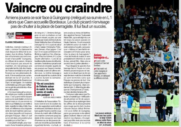 2018 Ligue 1 J38 AMIENS GUINGAMP 2-1 , le 24/05/2019