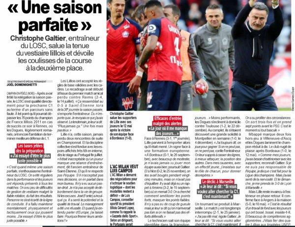 2018 Ligue 1 J38 RENNES LILLE 3-1, le 24/05/2019