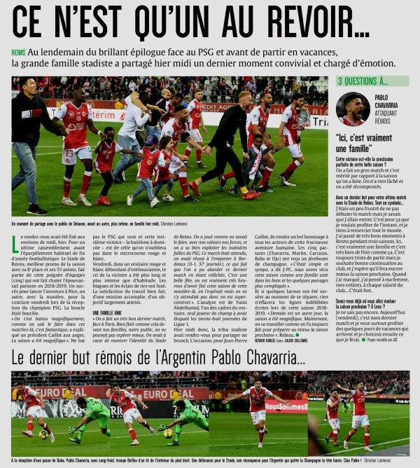 2018 Ligue 1 J38 REIMS PSG 3-1, les + du Blog, le 25/05/2019