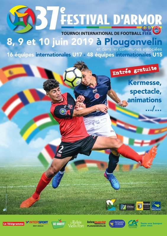2019 U17 FESTIVAL d'ARMOR : REIMS sur le PODIUM ,du 8 au 10/06/2019