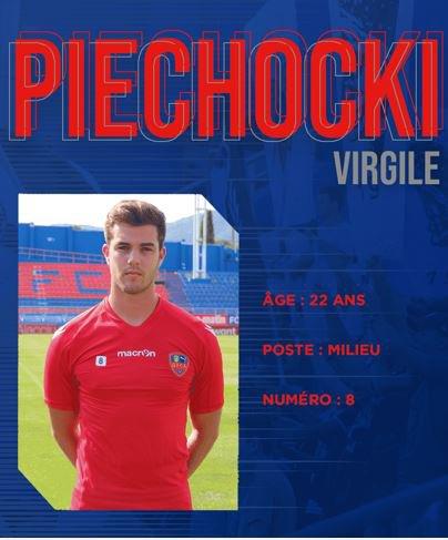 2019 MERCATO : PIECHOCKI au GAZELEC; le 02/07/2019
